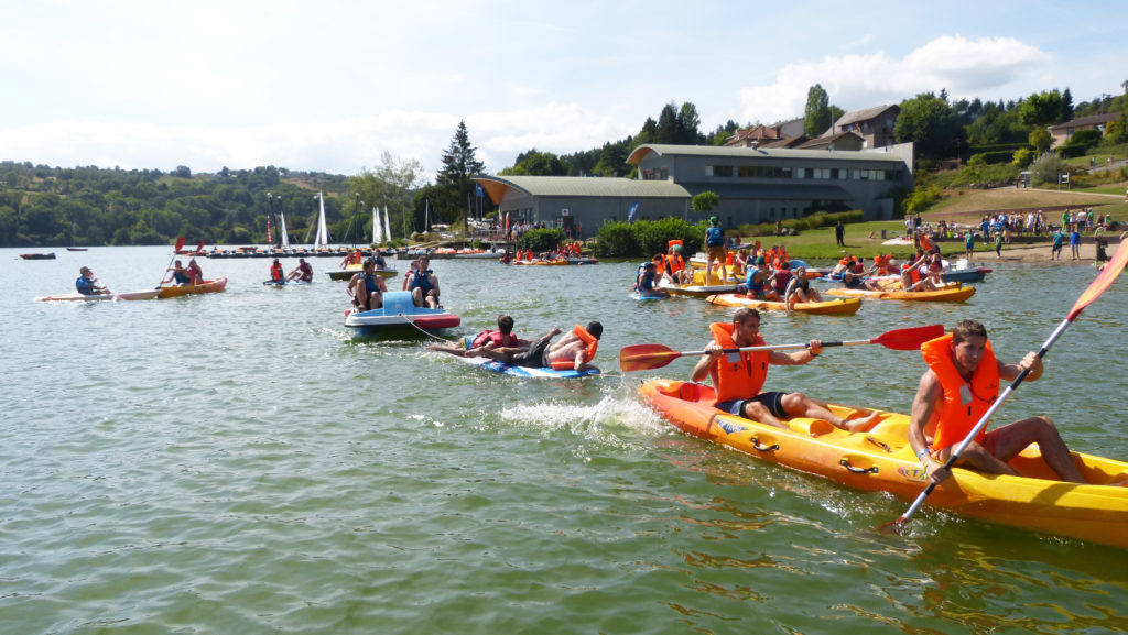 Challenge kayaks - Groupe Polytech©