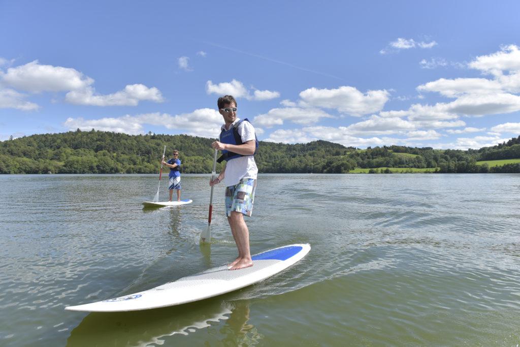 Cours individuel de paddle - Henri Derus©