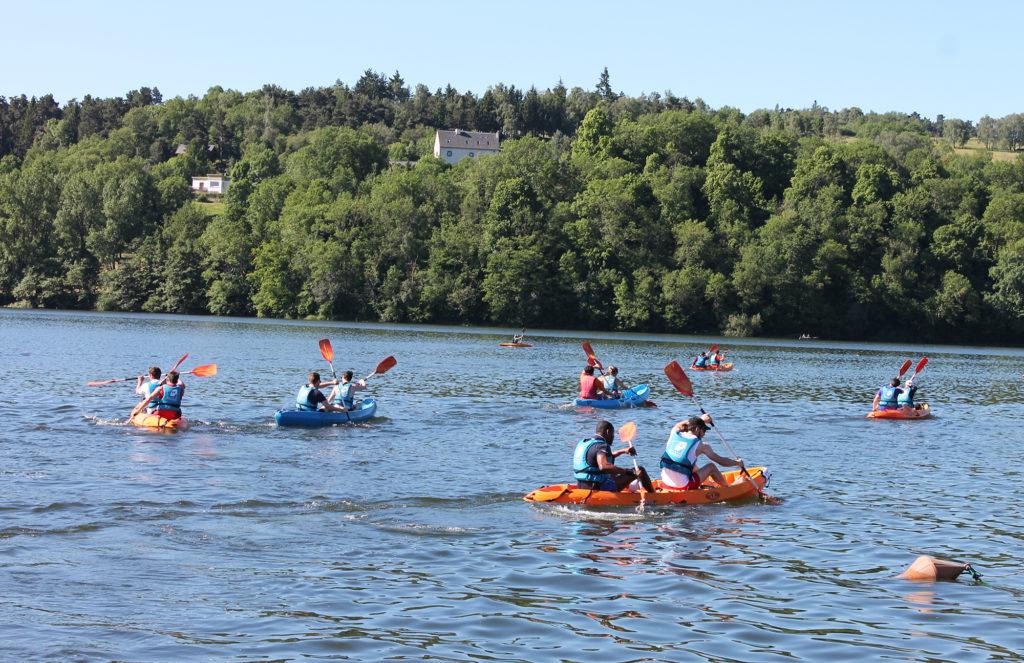 Chhalenge Kayak en groupe - Collège des écoles doctorales©