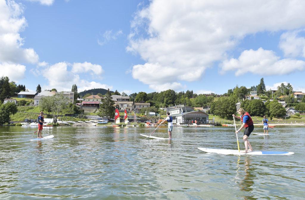 Paddle sur la lac d'Aydat - Henri Derus©