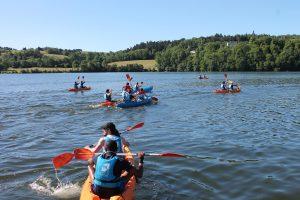 Kayak sur le lac d'Aydat - Mond'Arverne Tourisme©